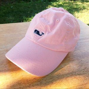 Baby Pink Whale Logo Baseball Hat